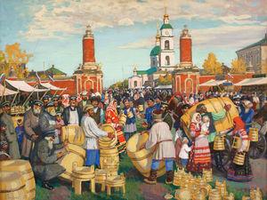 Наших ярмарок краски: подборка из 50 живописных полотен русских художников. Ярмарка Мастеров - ручная работа, handmade.