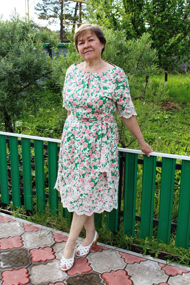 61f653a9af3 Шьем простое летнее платье из хлопка – Ярмарка Мастеров