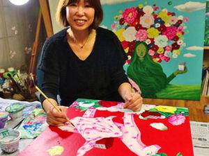 Lim Eun-Hee and Her «Bad Flower Garden». Livemaster - handmade