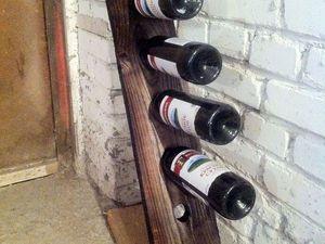 Мастер-класс: как сделать стеллаж для винных бутылок. Ярмарка Мастеров - ручная работа, handmade.