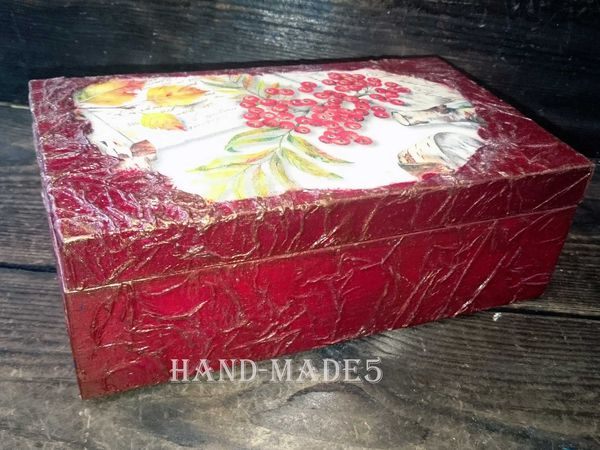 Декор шкатулки:  Декупаж и бумагопластика! | Ярмарка Мастеров - ручная работа, handmade