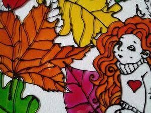 Рыжий ангел осени - скоро новая работа. Ярмарка Мастеров - ручная работа, handmade.