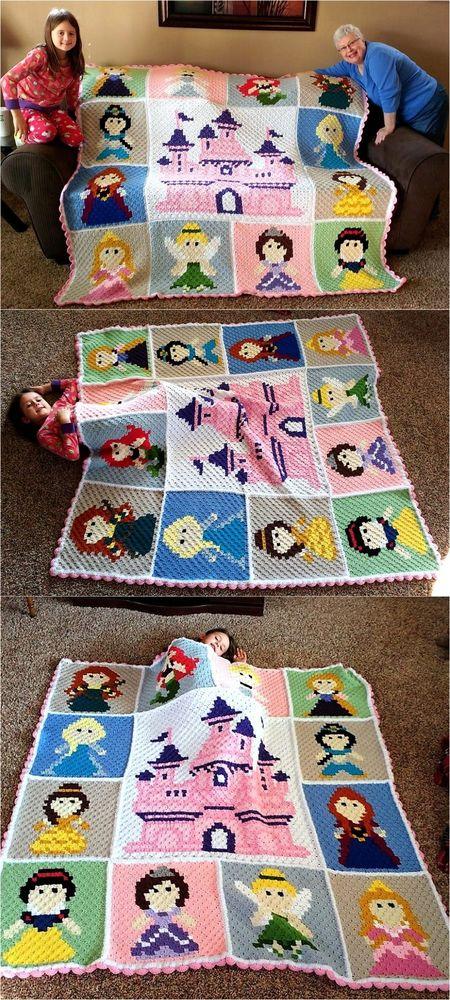 Волшебные детские пледики