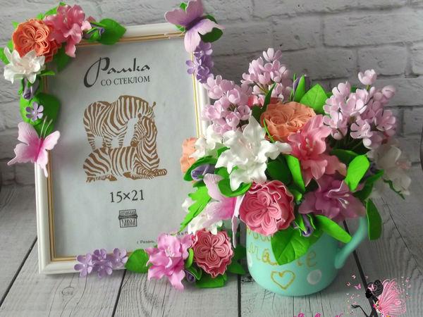 Мастерим подарок маме с цветами ручной работы из фоамирана. Часть 1 | Ярмарка Мастеров - ручная работа, handmade