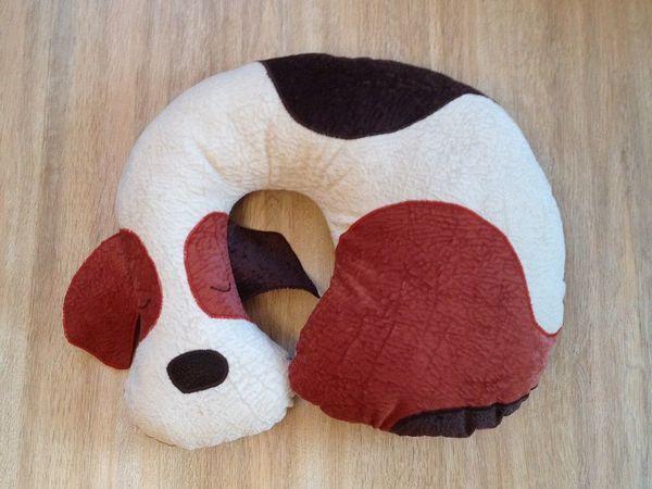Делаем собаку-подушку-подголовник   Ярмарка Мастеров - ручная работа, handmade