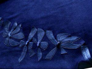 Синяя юбка | Ярмарка Мастеров - ручная работа, handmade