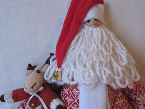 Делаем Тильду Санта-Клауса своими руками. Ярмарка Мастеров - ручная работа, handmade.
