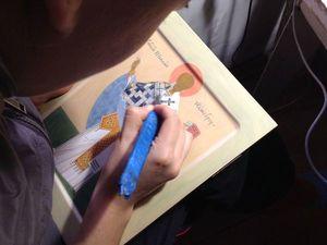 Переписала фелонь, не понравилось, решила счистить.... Ярмарка Мастеров - ручная работа, handmade.