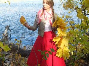 Акция! 14% скидка на женственную одежду красного и розового цвета   Ярмарка Мастеров - ручная работа, handmade