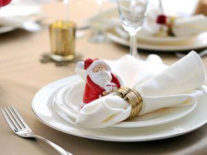 Салфетки в праздничном убранстве: 15 вариантов оформления новогоднего стола. Ярмарка Мастеров - ручная работа, handmade.