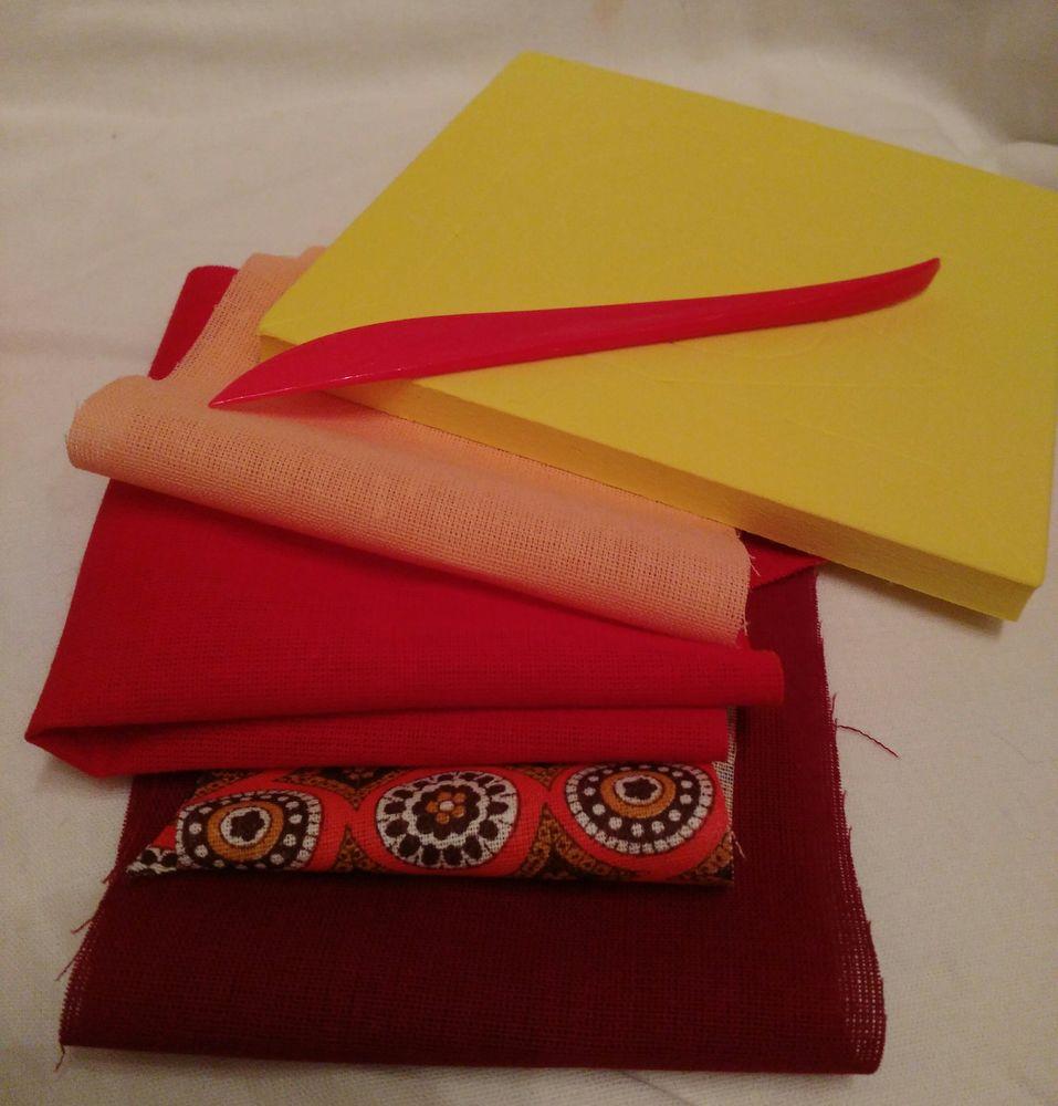 детское творчество, обрезки ткани, япония