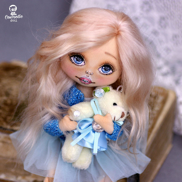 fabric doll, кукла для души