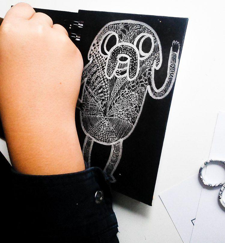 подарок, маргарита тюнина, интуитивное рисование