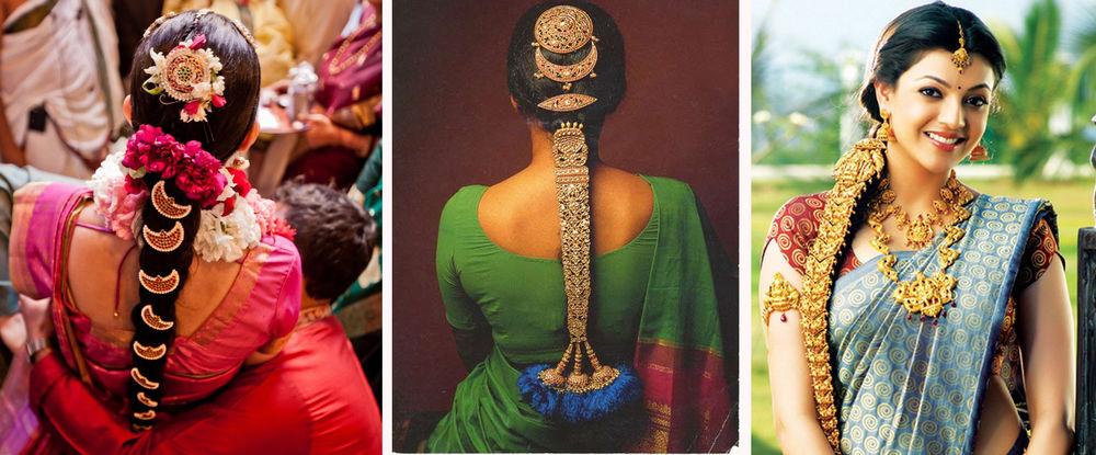Индийские украшения для волос