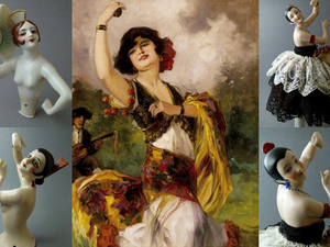 Half Dolls(куклы-половинки)-шарм и очарование! | Ярмарка Мастеров - ручная работа, handmade