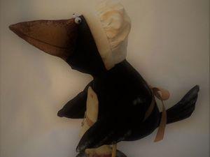 Ворона Повариха!. Ярмарка Мастеров - ручная работа, handmade.