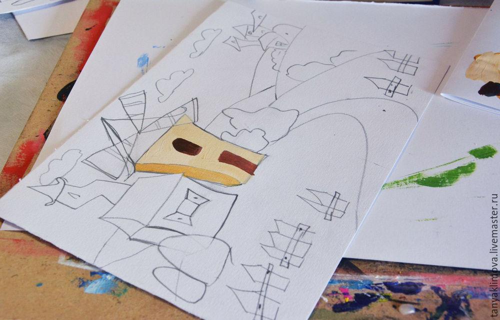 Развиваем детей с помощью аппликации «сказочный город», фото № 10