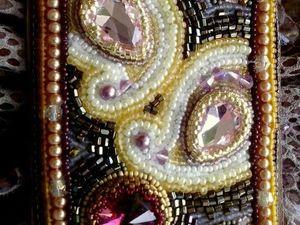 Аукцион на кожаную сумку с вышивкой.. Ярмарка Мастеров - ручная работа, handmade.