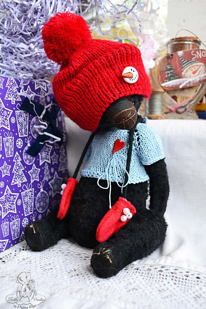 акция к новому году, мишка в подарок, куклы и игрушки