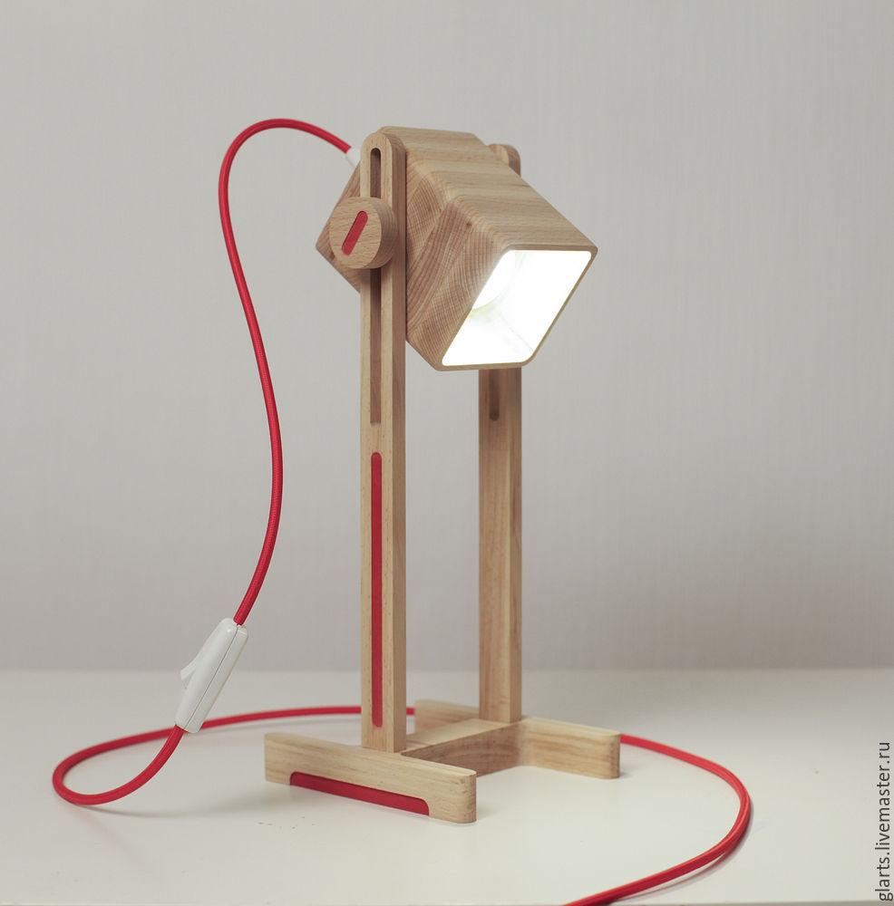 Как сделать светильник  настольный