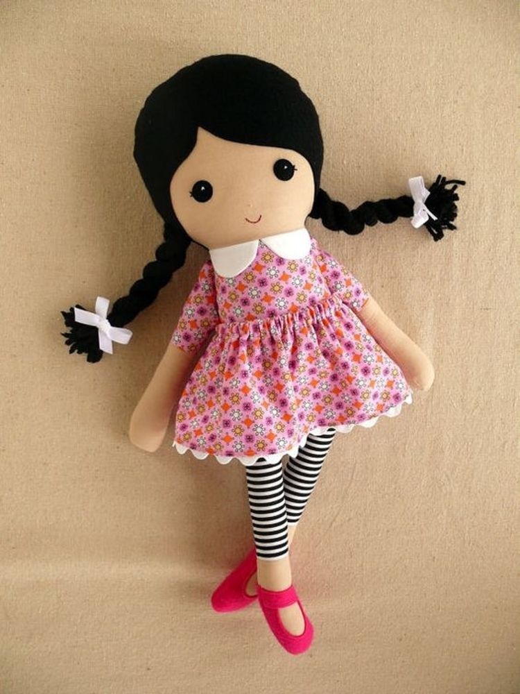 Картинки простой куклы