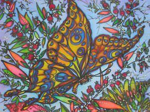 Мастер-класс по холодному батику (росписи по ткани). | Ярмарка Мастеров - ручная работа, handmade