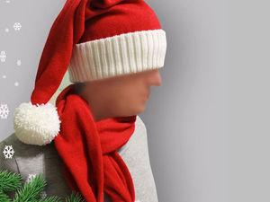 Дед Мороз -курьер.Вызывали? | Ярмарка Мастеров - ручная работа, handmade