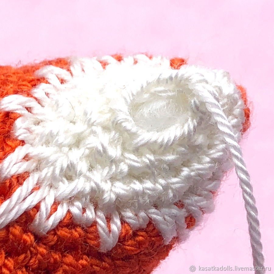 снегирь амигуруми