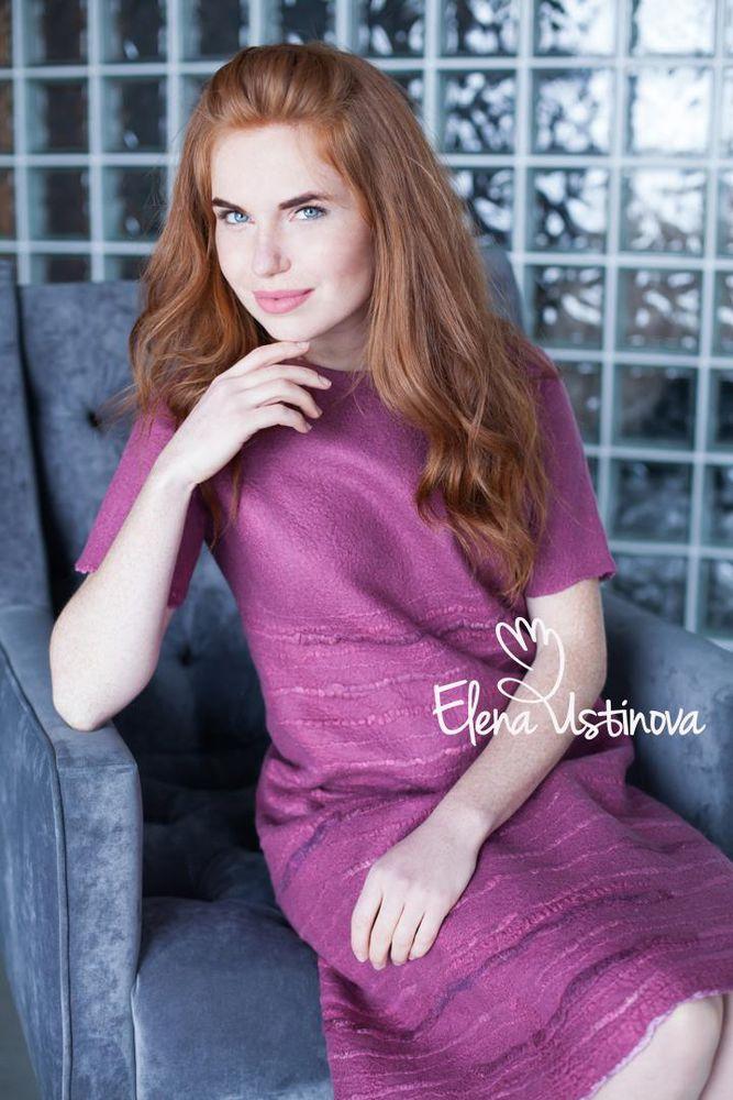 новое платье, красивое платье из шерсти