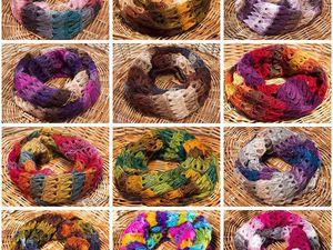Новые цвета и пополнение коллекции шарфов. | Ярмарка Мастеров - ручная работа, handmade