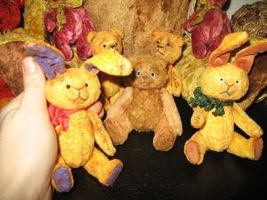 Тедди-крошки на ладошке! | Ярмарка Мастеров - ручная работа, handmade