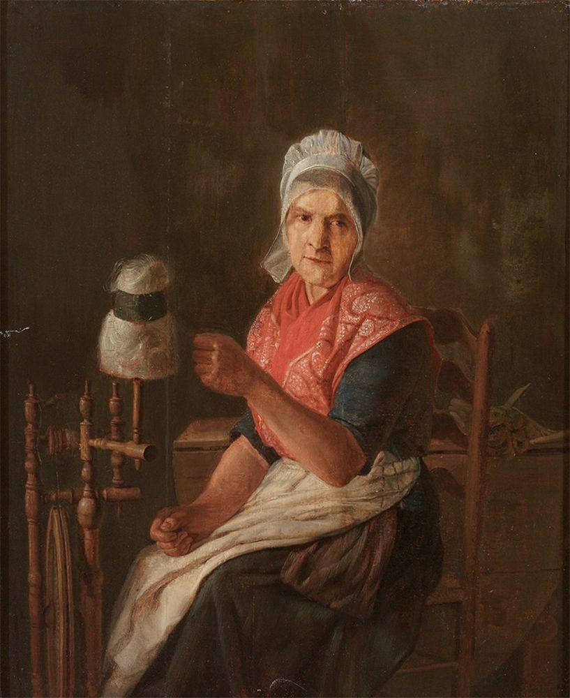Когда есть чем заняться — стареть некогда: душевные картины о бабушках-рукодельницах, фото № 25