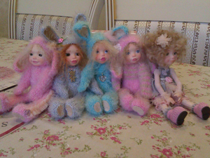 Весенняя распродажа  Кукол и Мишек !!! | Ярмарка Мастеров - ручная работа, handmade