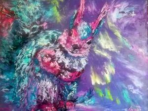 """Видео с моей выставки живописи """"Взгляд души"""" 02.06.2018. Ярмарка Мастеров - ручная работа, handmade."""