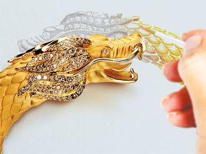 Как приручить дракона: подборка самых эффектных ювелирных украшений. Ярмарка Мастеров - ручная работа, handmade.