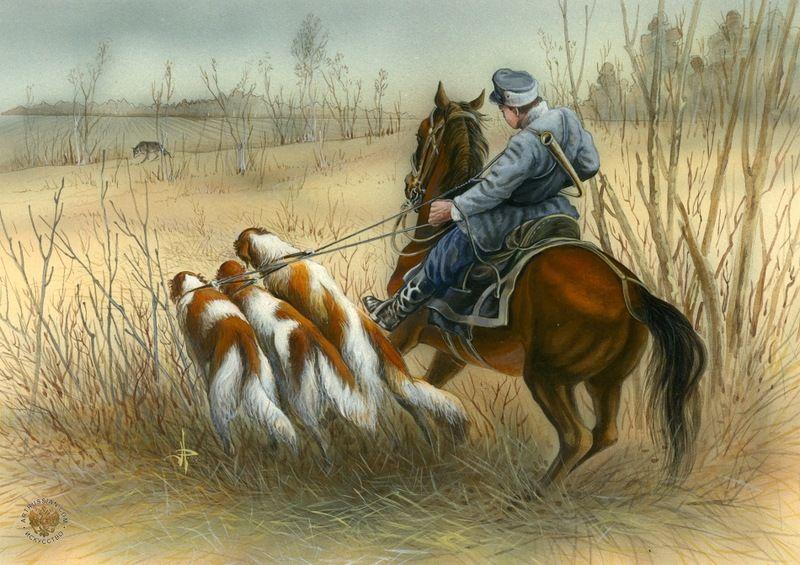 архикамень картинки для декупажа лошади и охота забил последний