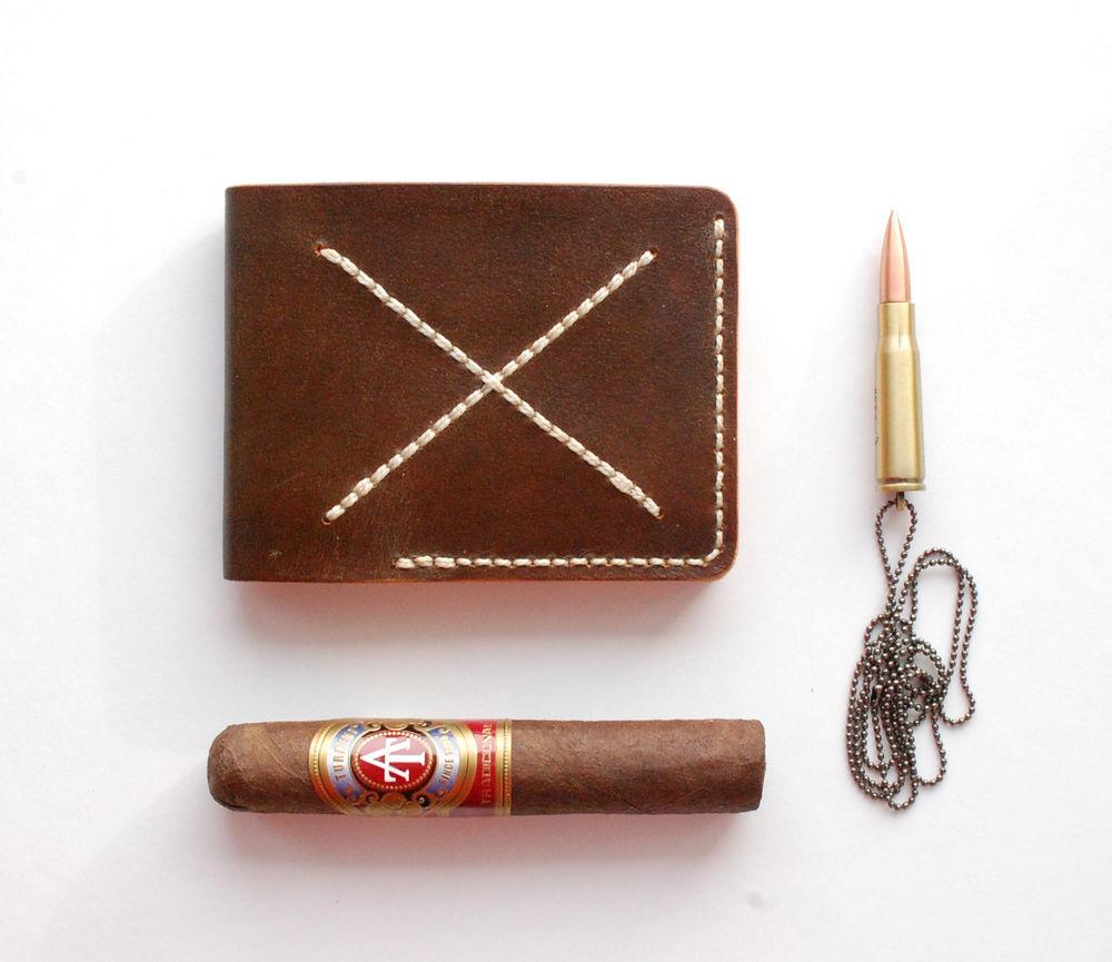 кошелек из кожи, портмоне, брутальный, натуральная кожа, седельный шов, комсомольск, хабаровск, владивосток, дфо, байкер, мотоцикл, сигары, мексика, революция, патронташ