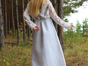 Валяная юбка Белые Ночи!. Ярмарка Мастеров - ручная работа, handmade.