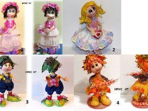 Распродажа кукол из фоамирана | Ярмарка Мастеров - ручная работа, handmade
