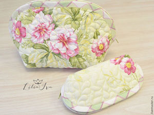 Sewing a Set: A Vanity and Eyeglass Cases. Livemaster - handmade