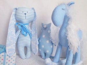 Аукцион сегодня — наборы текстильных игрушек для малышей. Ярмарка Мастеров - ручная работа, handmade.