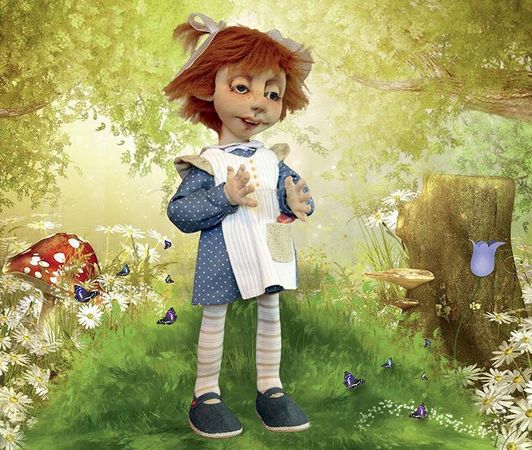 книга, мастер-класс кукла