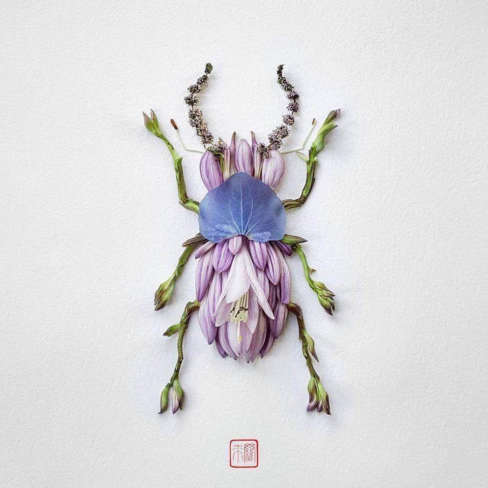 Petal Magic: Unusual Compositions by Raku Inoue, фото № 21