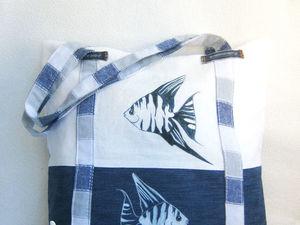 Стильная сумка своими руками | Ярмарка Мастеров - ручная работа, handmade