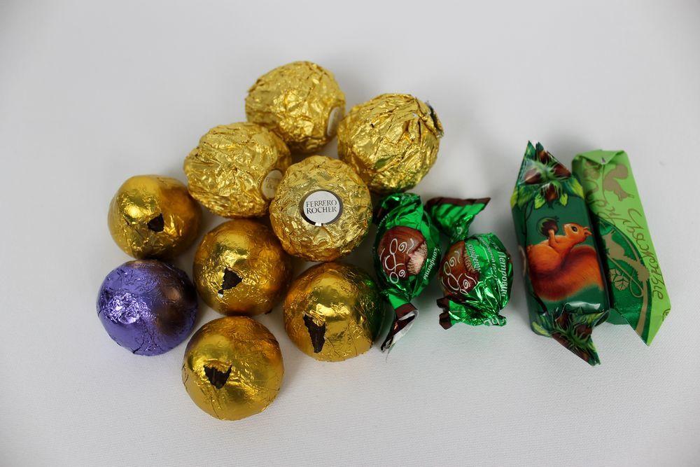 рабочие конфеты