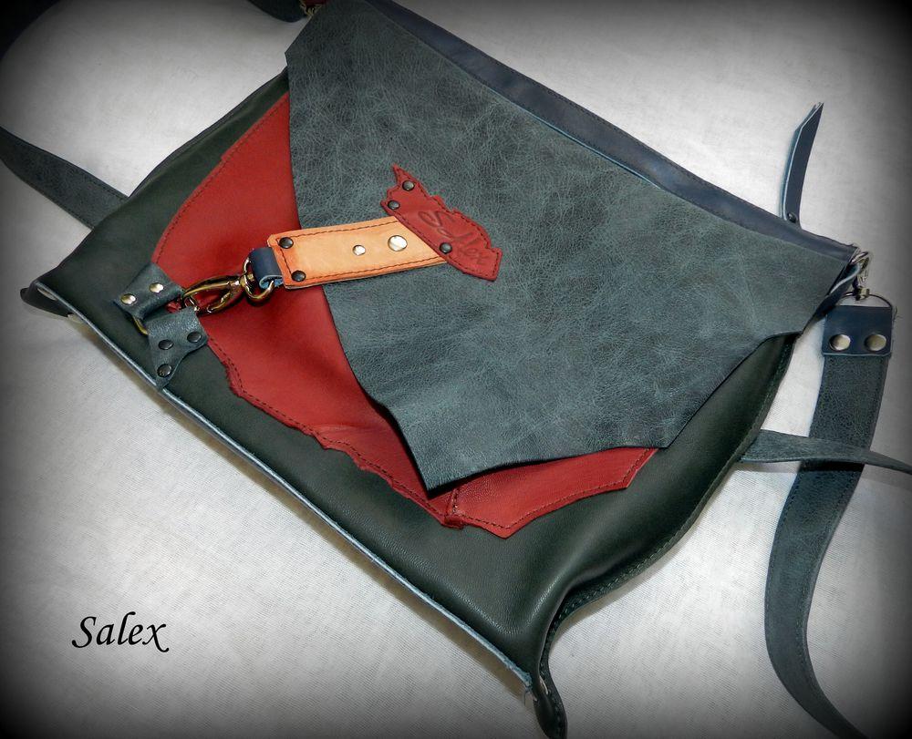 сумочка из кожи