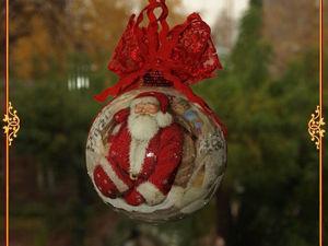 Елочные шары Новогодний Светофор-2 Елочные игрушки. Новый Год 2018. Ярмарка Мастеров - ручная работа, handmade.