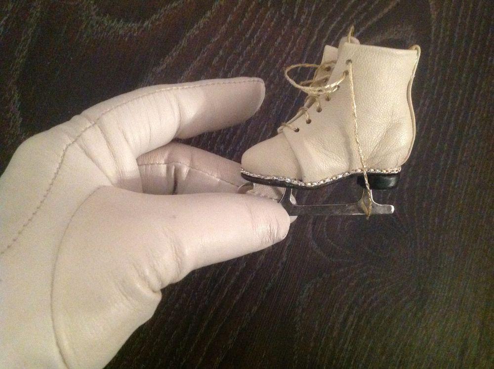 коньки на куклу, обувь кукольная