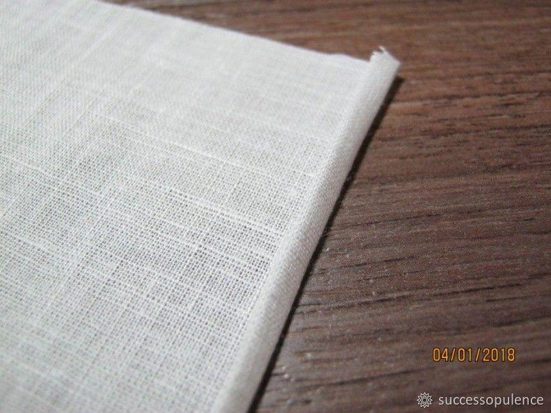 Making Handkerchiefs with Tatting Lace, фото № 4