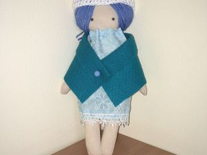Моя первая кукла | Ярмарка Мастеров - ручная работа, handmade
